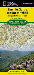 Trails Illustrated Linville Gorge/ Mount Mitchell