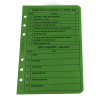 Tactical Reference Card Set Green