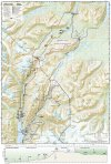 Chilkoot Trail/ Klondike Gold Rush Map