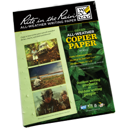 Rite in the Rain Tactical Copier Paper 8.5 x 11 Green