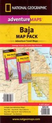 Baja Map Pack - Adventure Travel Maps (Maps, #3103 & 3104)