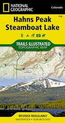 Trail Illustrated Hahns Peak/Steamboat Lake Trail Map
