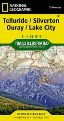Trails Illustrated Telluride /Silverton /Ouray /Lake City Trail