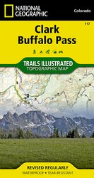 Trail Illustrated Clark/Buffalo Park Trail Map