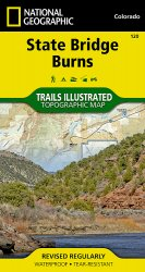 Trails Illustrated State Bridge / Burns Trail Map