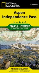 Trails Illustrated Aspen/Independence Pass Trail Map