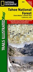 Trails Illustrated Tahoe National Forest Sierra Buttes/ Donner P