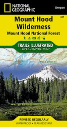 Trails Illustrated Mount Hood Wilderness