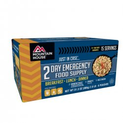 Just in Case 2 Day Emergency Food Supply Kit