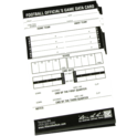 Football Referee card 3 1/4 in x 5 1/2 in
