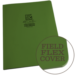 Rite in the Rain Field Flex Maxi Notebook Green