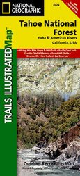 Trails Illustrated Tahoe National Forest Yuba/American Rivers