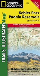Trails Illustrated Kebler Pass/Paonia Reservoir Trail Map