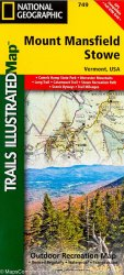 Trails Illustrated Mount Mansfield and Stowe