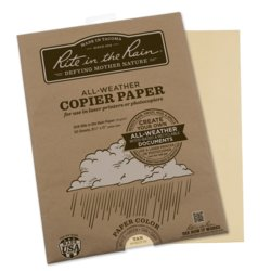 Rite in the Rain Tan Copier Paper 50 Sheets #9511T-50
