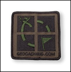 Geocaching.com Camo Patch
