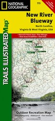 Trails Illustrated New River Blueway