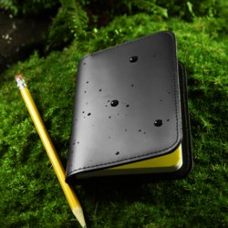 "Leather Cover for 3"" x 5\"" Side Memo Notebook \""Closeout\"""