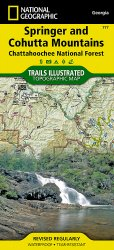 Trails Illustrated Springer & Cohutta Mountains Trail Map