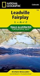 Trails Illustrated Colorado Series Leadville / Fairplay