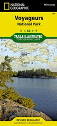 Voyageurs National Park Trail Map