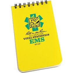 "Vital Stats (EMS) Notebook 3"" x 5\"" #112"