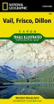 Trails Illustrated Colorado Series Vail / Frisco / Dillon