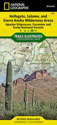 Trails Illustrated Hellsgate, Salome & Sierra Ancha Wilderness #