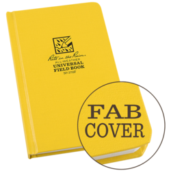 "Universal Bound Book Fab Cover 4 3/4"" x 7 1/2\"" #370F"