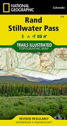Colorado Series Rand/Stillwater Pass Trail Map