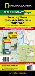 Trails Illustrated Boundary Waters Map Pack Bundle