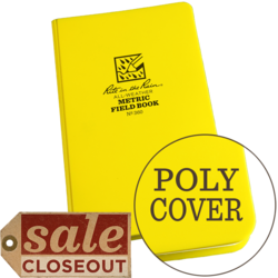 "Metric Field Bound Book Poly Cover 4 3/4"" x 7 1/2\"" #360"