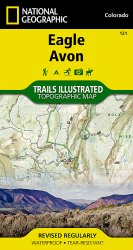 Trails Illustrated Eagle/Avon Trail Map