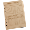 Tactical Range Card Loose Leaf Tan