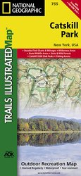 Trails illustrated Catskill Park Trail Map
