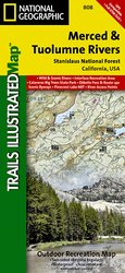 Trails Illustrated Merced and Tuolumne Rivers / Stanislaus Natio