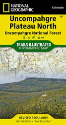 Trails Illustrated Uncompahgre North trail map