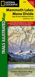 Trails Illustrated Mammoth Lakes and Mono Divide Trail Map