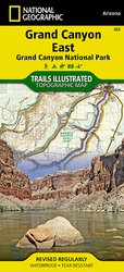 Grand Canyon East Trail Map # 262