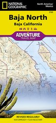 Adventure Map Baja North # 3103