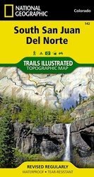 Trails Illustrated South San Juan/Del Norte Trail Map