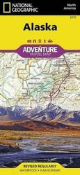 National Geographic Adventure Map Alaska