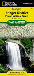 Trails Illustrated Pisgah National Forest Trail Map