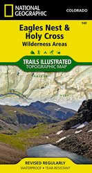Trails Illustrated Eagles nest and Holy Cross Wilderness area