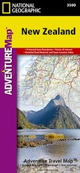 Adventure Map New Zealand