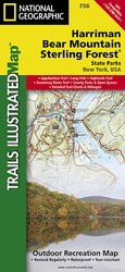 Trails illustrated Harriman Bear Mountain Sterling Forest
