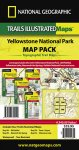 Trails Illustrated Yellowstone Sectional Map Pack Bundle