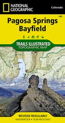 Trails Illustrated Pagosa Springs & Bayfield Trail Map