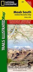 Trails Illustrated Moab South #501