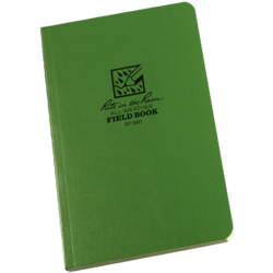 Tactical Bound Field book Green #980